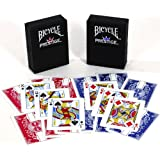 Duraflex All Plastic Bicycle Prestige Playing Cards _ Bundle of 2 Decks
