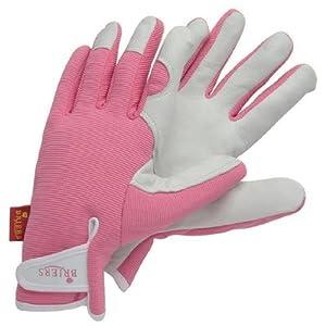 Briers lady gardener gloves pink garden for Gardening gloves amazon