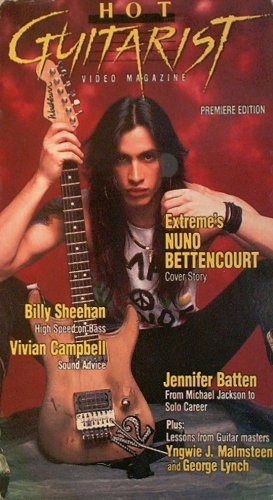 Hot Guitarist Magazine Vol 01 [VHS]