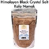 The Spice Lab's Himalayan BLACK Crystal Salt Kala Namak Salt 16 Oz (fine ground)