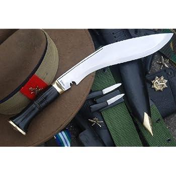 Authentic Service No.1 Kukri - British Gurkha Army Issue Khukuri Knife - Hand Forged Blade in Nepal