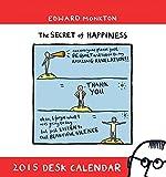 Edward Monkton 2015 Easel Calendar
