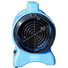 "Miniveyor Air VAF-200 Vane Axial Fan with Powerful Dust and Fume Extraction, 8"" Duct Diameter, 110V, 3450rpm"