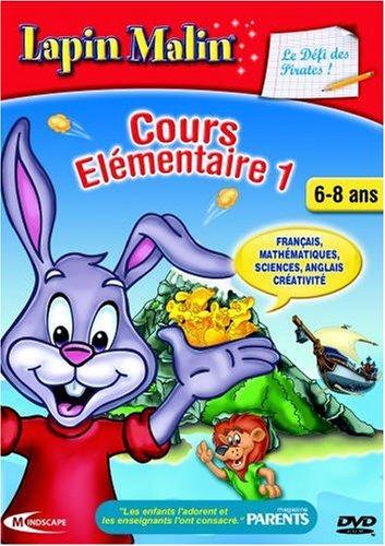 Lapin Malin 2ième primaire - Le défi des pirates 7-8 ans (vf - French software)