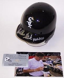 Carlton Fisk Autographed Hand Signed Chicago White Sox Mini Helmet - PSA DNA -... by Sports+Memorabilia