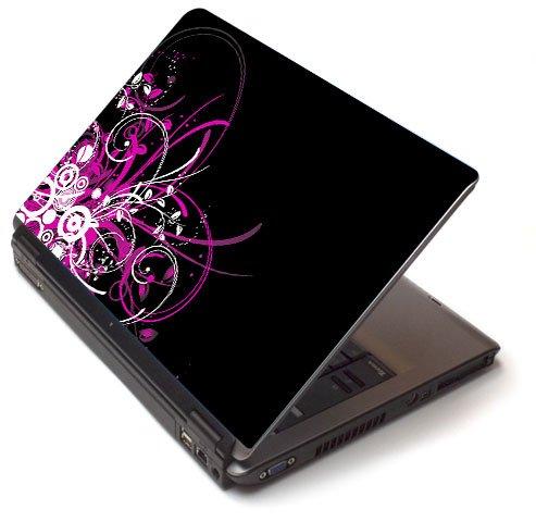 "Pink pizzazz 2 - Toshiba Lapjacks skin to fit 15"" Laptops"
