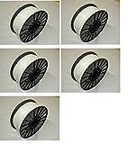 PLASIL プラシル プレミアムABS樹脂 フィラメント 5個セット(白) 1.75mm 1kg 3Dプリンター用 Premium ABS Filament