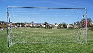 Buy 2 Large Soccer Goals, 12 x 6 Ft. Each, Huge Goal and net. 32MM Steel, Brand New 12x6 by Petra