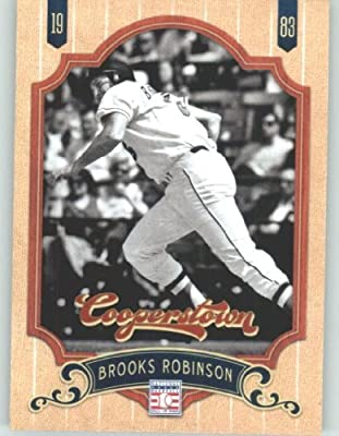 2012 Panini Cooperstown Baseball Card #135 Brooks Robinson - Baltimore Orioles (Legend / Hall of Fame / HOF) MLB Trading Cards