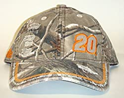 NASCAR #20 Tony Stewart Home Depot Camo Buckle back Cap