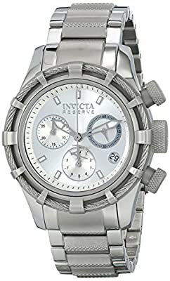 Invicta Women's 12459 Bolt Analog Display Swiss Quartz Silver Watch