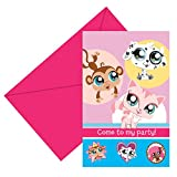 Hasbro Littlest Pet Shop Invitations