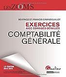 echange, troc Béatrice Grandguillot, Francis Grandguillot - Exercices de comptabilité générale 2014-2015