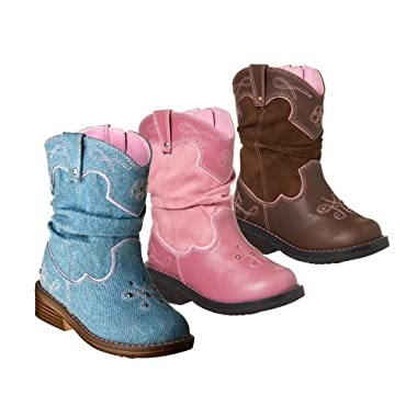 Product Image Toddler Girl Cowboy Boot Collection