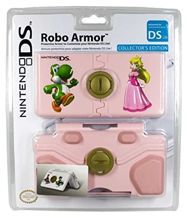 Nintendo DS Lite Robo Armor Lite Peaches & Yoshi Case