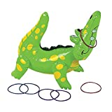 Inflatable Alligator Ring Toss Game
