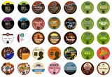 Crazy Cups Travel The World Sampler Pack, Single-cup coffee for Keurig K-Cup Brewers, 35-Count