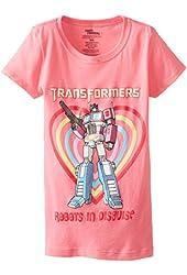 Transformers Little Girls' Robots In Disguise Tee Shirt