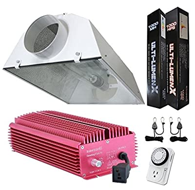 Ulti-Lumenx IntelSun Digital Dimmable HPS MH Grow Light Systems