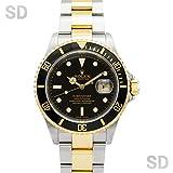 [ロレックス]ROLEX腕時計 サブマリーナー ブラック Ref:16613 メンズ [中古] [並行輸入品]