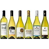 世界のワイン産地別 白ワインの王道品種シャルドネ 飲み比べ6本セット