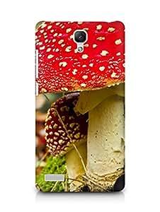 Amez designer printed 3d premium high quality back case cover for Xiaomi Redmi Note Prime (Mushroom in fall)