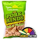 Fried Pork Rinds Salt & Vinegar 24 bags