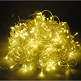 Morelight 66FT 200 LED 20M Warm White Garden Xmas Party String Fairy Lights Christmas Wedding London Fast Ship
