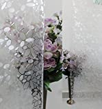 Verre Static Decorative Frosted Window glass film -ML022 (135cms X 90cms)