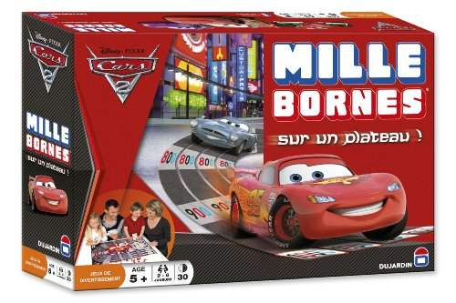 jeu milles bornes cars 2 50 rembours. Black Bedroom Furniture Sets. Home Design Ideas