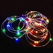 Alcoa Prime New 10m 100 LED Copper Waterproof Wire String Light For Outdoor Christmas Decoration DC12V