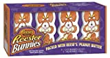 Reese's Easter Peanut Butter Reester Bunnies, 4-Count Packages (Pack of 6)