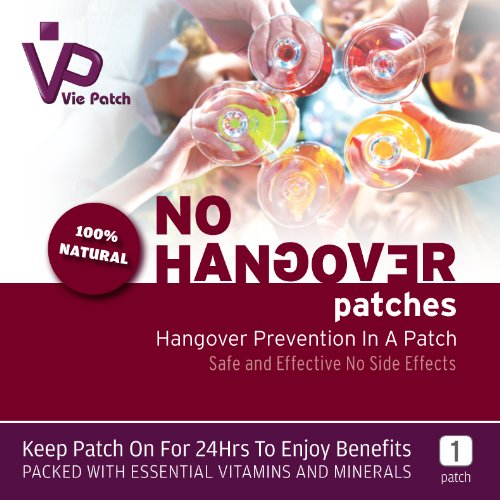 Vie Patch - No Hangover Patch - 100% Natural Prevention.