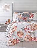 Jessica Simpson 3-Piece Golden Peony Comforter Set, King, Coral