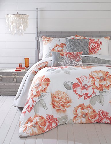 Coral Bedding Queen 8858 front