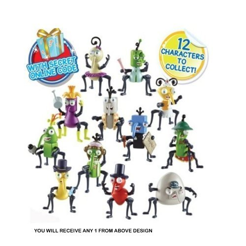 Bin Weevils Figures Assorted Toys (Only One Character Supplied)