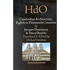 Cambodian Architecture: Eighth to Thirteenth Centuries (Handbook of Oriental Studies)