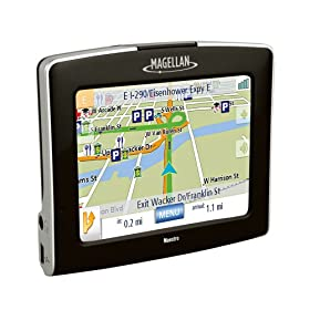 51a9n327FoL. SL500 AA280  Magellan Maestro 3250 Portable GPS Navigation   $100 Shipped