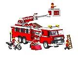 Top Race® Fire Engien Truck Vehicle Building Set