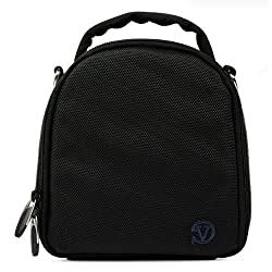VanGoddy Laurel DSLR Camera Carrying Bag with Removable Shoulder Strap for Panasonic Lumix DMC-FZ150 Digital SLR Camera (Steel Grey)