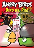 Angry Birds Giant Coloring and Activity 1 assorted coloring Book 96 Pages