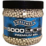Walther Premium Softair Munition BBs Kal. 6 mm (0.20g) 5000 Stück, 2.5679