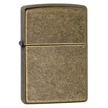 Zippo Classic Lighter - Antique Brass