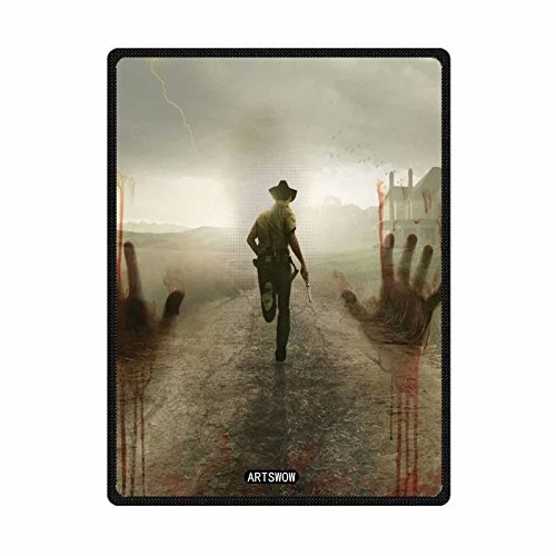 ARTSWOW, motivo: The Walking Dead-Coperta in pile, per interni ed esterni-Coperta da viaggio 101,60 cm x (40 127,00 (50 cm, taglia: S