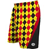 Flow Society Argyle Lax Performance Shorts