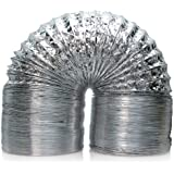 Active Air ACDF12 25-Feet Non-Insulated Air Duct , 8-Inch