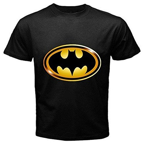 DC Comics Batman Hush Logo T-Shirt for Adults, Men, Boys- 3X-Large - Black (Batman Rubber Cowl compare prices)