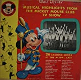 Image of Walt Disney Presents Musical Highlights From the Mickey Mouse Club TV Show