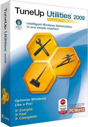 TuneUp Utilities 2009 (Up to 3 Users)