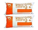 Big Joe Comfort Research UltimaX Bean Bags Refill (2 Pack), 100 L